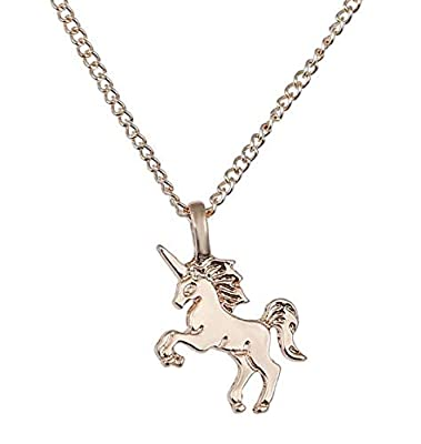 WSDAHGTH Yolandabecool Women Girls Unicorn Pendant Alloy Chain Necklace Jewelry Accessories Gift
