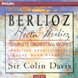 Berlioz : Intégrale des Oeuvres pour Orchestre (Coffret 6CD)