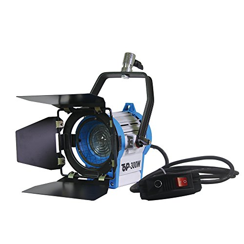 300Watt Dimmer integriertem in Fresnel Wolfram Foto Video Studio kontinuierliche Beleuchtung Licht Strahler (Studio-beleuchtung Kontinuierliche)