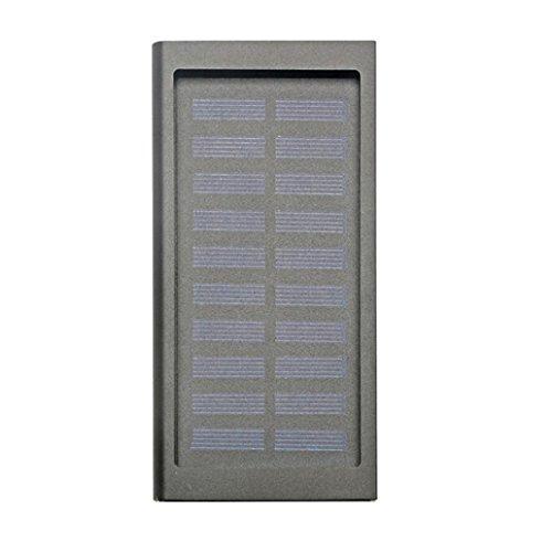 Für Handy 10000mAh Portable Solar Power Bank Dual USB Schnell Ladegerät DIY Box Fall - Solarenergie-handy-fall