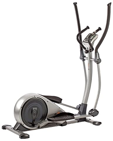V-fit MPTE2 Programmable Magnetic Elliptical Trainer - Silver Grey/Black