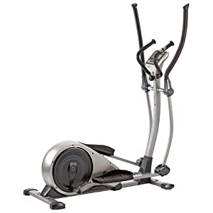 4154LQyc%2BaL. SS300  - V-fit MPTE2 Programmable Magnetic Elliptical Trainer - Silver Grey/Black