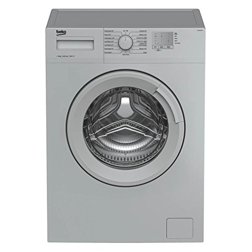 Beko WTG820M1S A+++ 8Kg 1200 Spin Washing Machine in Silver 16 Programmes