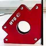 S&R Supporto Angolare Magnetico I Magnete per saldatura a squadra 45 °- 90 °-135 °