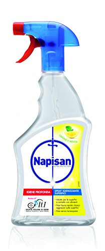 Napisan Spray Igienizzante Superfici Limone e Menta 750 ml
