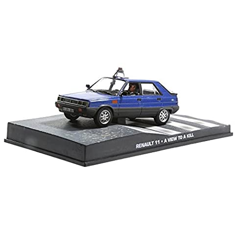 Voiture miniature Renault 11 1/43 James Bond . film A view to a kill