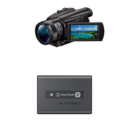 Sony FDR-AX700 4K HDR Ultra-HD-Camcorder (1 Zoll Exmor RS Stacked Sensor, 3,5
