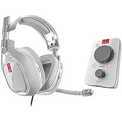 ASTRO Gaming, casque filaire A40 TR + MixAmp Pro TR 3e génération avec son surround Dolby 7.1 - Compatible Xbox One, PC, Mac - Blanc