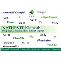 Natural Farm, Naturvit Klamath 50 cpr.