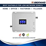 Signaxo Tri Band 2G 3G 4G LTE Mobile Signal Booster/Cell Phone Network Amplifier