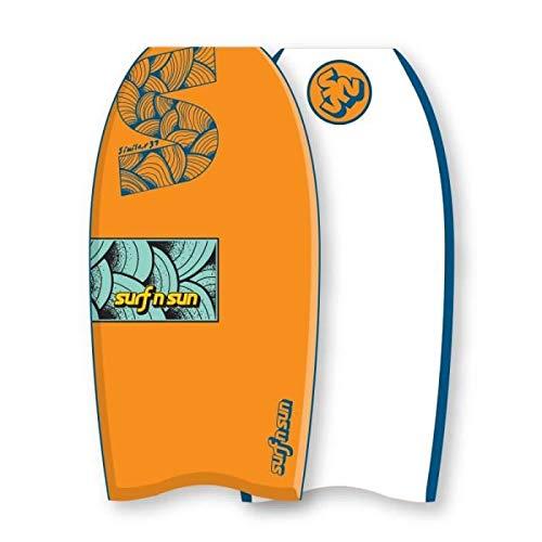SURF & SUN Bodyboard Similar EPS 33' - Orange et bleu