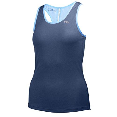Helly Hansen W Aspire Lifa Flow Singlet - Maglietta senza maniche da donna blu