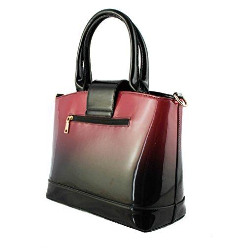 Redfox , Damen Tote-Tasche Violett
