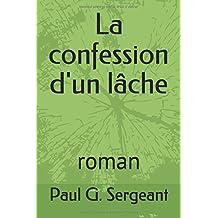 La confession d'un lâche: roman