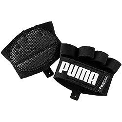 PUMA TR ESS Grip Gloves Guantes, Unisex Adulto, Negro/Blanco, M