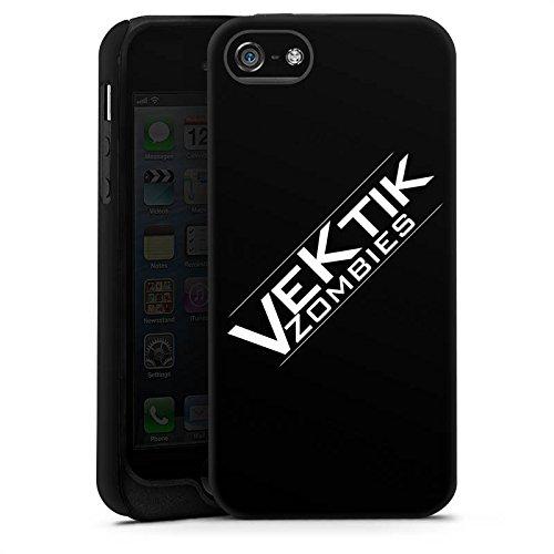 Apple iPhone X Silikon Hülle Case Schutzhülle Vektik Fanartikel Merchandise Zombies Tough Case matt