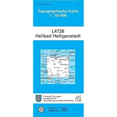 topographische karte england Heilbad Heiligenstadt: L 4726 (Topographische Karten 1:50000 (TK