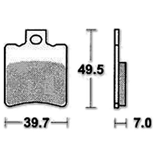 'TRW Lucas freni 'MCB 696Set Standard (Abe) organico Frecce