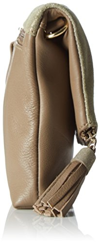 Gabor 7577, Borsa a tracolla Donna, 2x15x20.2 cm (B x H x T) Marrone (Taupe)