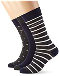GANT Herren O. 3-Pack Stripe/ Star Socks