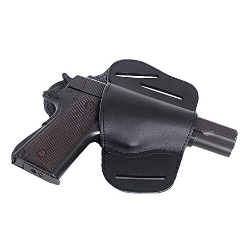 Gexgune Leather IWB Verdeckte Tragepistolenholster für Glock 17 19 22 23 43 Sig Sauer Ruger Beretta 92 M92 s&w Verdeckte Lederholster - Ruger Verdeckte Holster Lc9