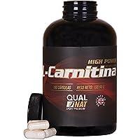L-Carnitina para mejorar y aumentar el rendimiento deportivo - Suplemento deportivo que ayuda a perder peso e incrementar la masa muscular junto con un entrenamiento adecuado - 180 cápsulas