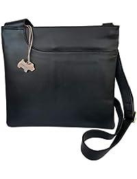 7fbb1ffbf6 RADLEY  Pocket Bag  Black Leather Large Across Body Bag - RRP £129.00