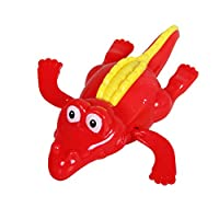 1PC Children Clockwork Crocodile Doll Swimming Pool Floating Bathtub Play Up Chain Bathing Water Toy(Random Color)