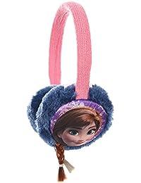 La Reine des Neige Orejeras de Frozen con trenzas para niñas, talla única, color rosa y azul marino