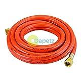 Daptez Propane Butane 5m Torche De Gaz & Régulateur Tuyau 5 Mètres Avec Connecteurs