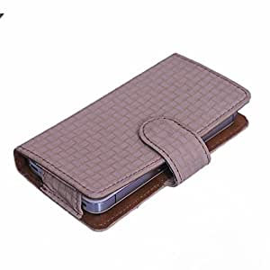 DSR Pu Leather case cover for Spice Stellar 430
