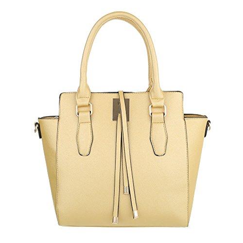 Taschen Handtasche Gold