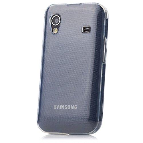 iCues   Samsung Galaxy Ace S5830   trasparente TPU Chiaro   protettore foglio trasparente della cassa della pelle del gel Sereno Sereno sili [Screen protector Compreso] Custodia Cover Case Tasca Borsa