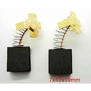Bosch Mitre Saw Carbon Brushes 7X17X19mm GCM10 GCM10SD GCM12 GCM12SD GCM8S S8