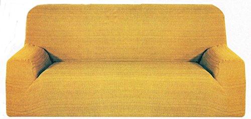 takestop® COPRIDIVANO 4 POSTI Oro Africa ESTENDIBILE da 170 A 280 CM SALVADIVANO Copri Divano Tessuto Elasticizzato Made in Italy