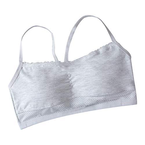Yunso Mädchen BH Bustier Baumwolle Unterwäsche Unterhemden Girls Training Bra Tank Tops
