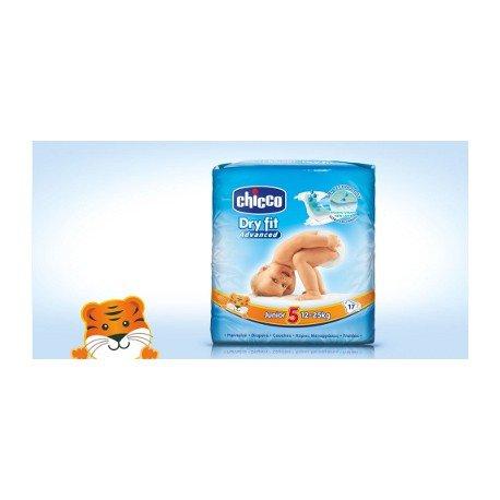 Chicco Nuovi Pannolini DryFit Junior 18pz