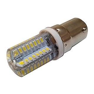 One Click Abode B15 64 LED Bulb 3014 SMD 220V (1, Cool White)