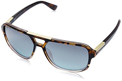Fastrack Gradient Square Men's Sunglasses - (C083BU3|61|Blue Color) image