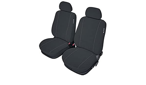 ZentimeX Z977099 Sitzbez/üge Vordersitze Stoff schwarz Airbag-Kompatibel