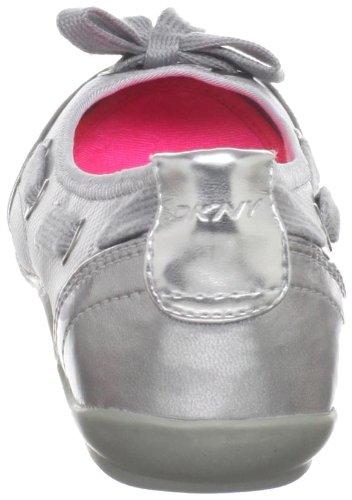 DKNY Damen Brayden Stretch Classic Court Sneaker Schwarz