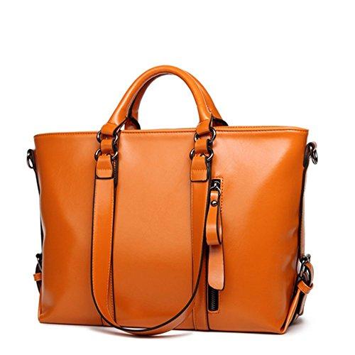 Eysee, Poschette giorno donna Marrone arancione 36cm*26cm*15cm arancione