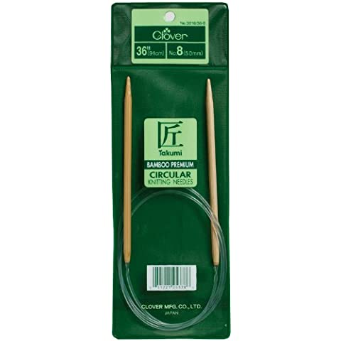 Bamboo Circular Knitting Needles 36