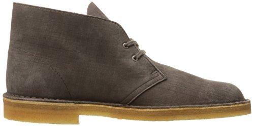 Clarks Desert Boot Mens Dark Taupe