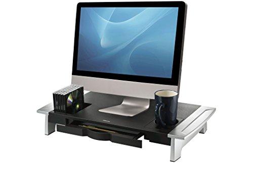 Fellowes 8031001 Office Suites Premiummonitorständer schwarz/silber