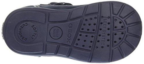 Geox B Kaytan A, Chaussures Marche Bébé Garçon Bleu (Navy/Whitec4211)