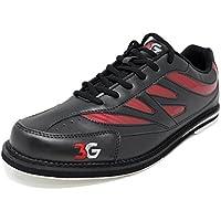 Bowling-Schuhe, 3G Cruze, Damen und Herren, für Rechts- und Linkshänder, 2 Farben, Schuhgröße 36-46
