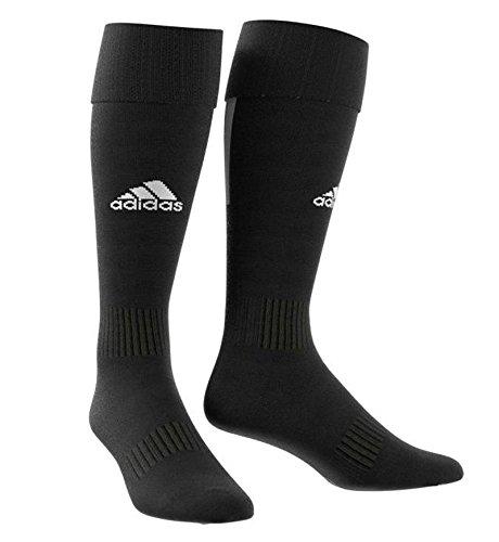 Adidas santos 18, calze uomo, nero/bianco, 37-39