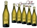 6 Bottiglie PROSECCO LEGATURA SPAGO VAL D'OCA 750 ML VALDOBBIADENE