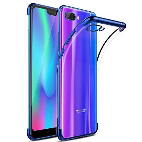 KuGi Huawei Nova 3 Hülle, Kratzfeste Hülle Huawei Nova 3 Schutzhülle Soft TPU Case Ultradünn Cover [Slim-Fit] [Anti-Scratch] [Shock Absorption] für Huawei Nova 3 Smartphone. Blau